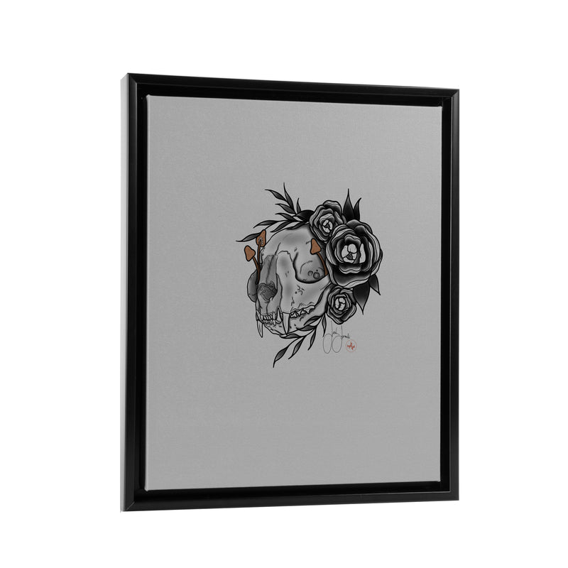 Jordan Rose - Growth out of Bone - Floating Frame Canvas