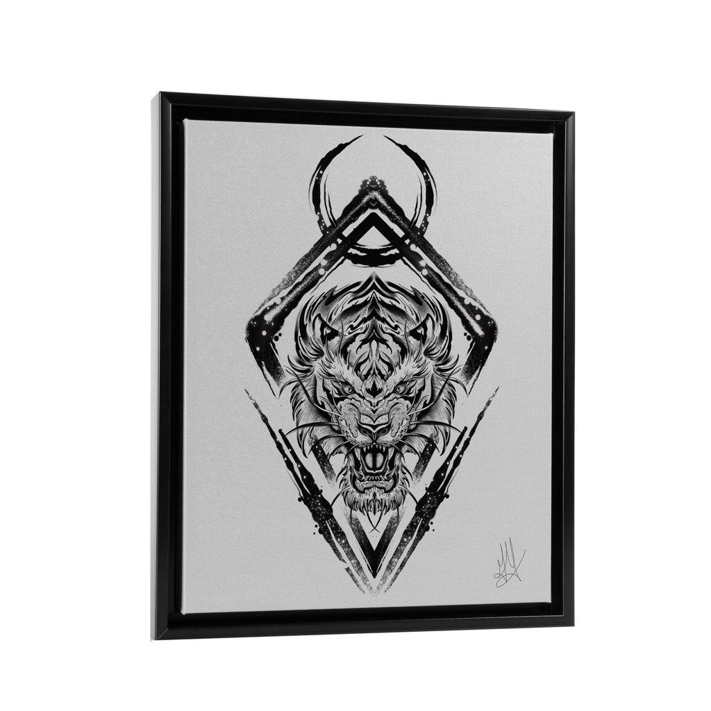 Gady Tattoo - Destination - Floating Frame Canvas