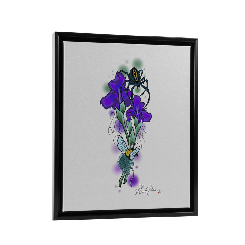 Nicole Elisa - Beautiful Creatures - Floating Frame Canvas