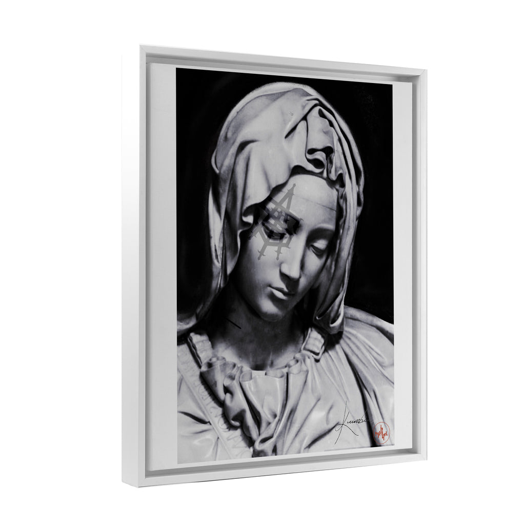 Kumbia - Divine Grace - Floating Frame Canvas