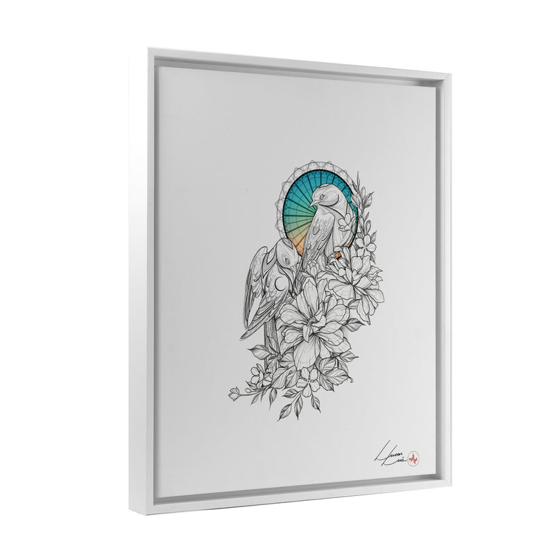 Lucas Lua - Together - Floating Frame Canvas