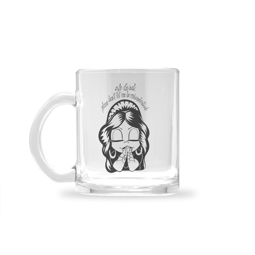 Amber Tilden - Misunderstood - Glass Mug