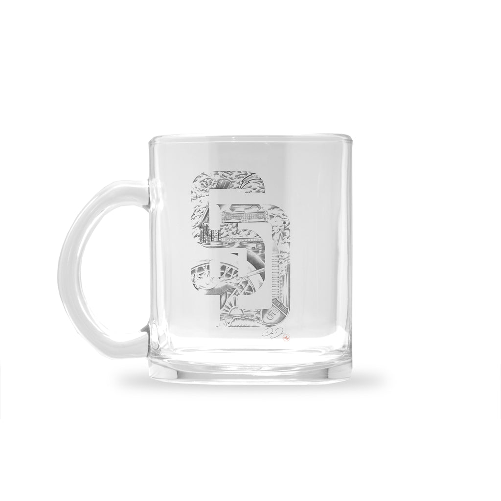 Dago Dane - SD Dreamin - Glass Mug