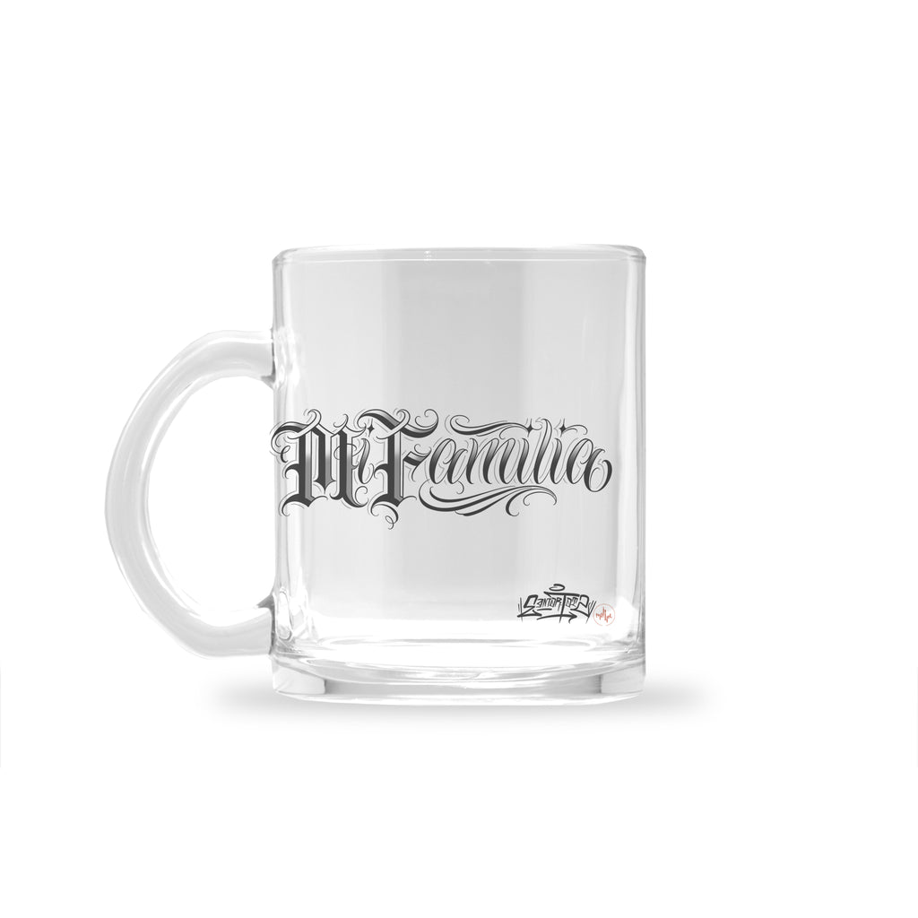 Edmar Ramirez - Family - Glass Mug