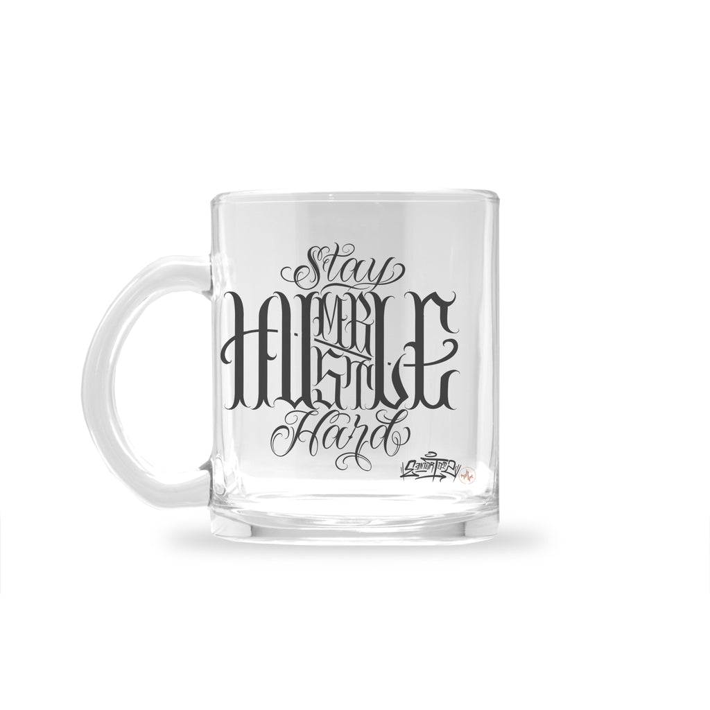 Edmar Ramirez - Humble x Hustle - Glass Mug