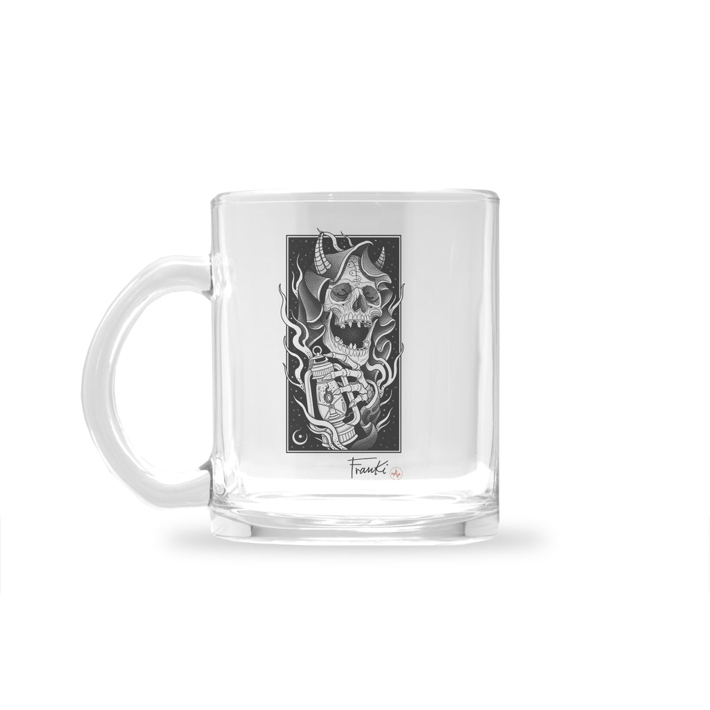 Franki Tattoo - The Light of the Grim Reaper - Glass Mug