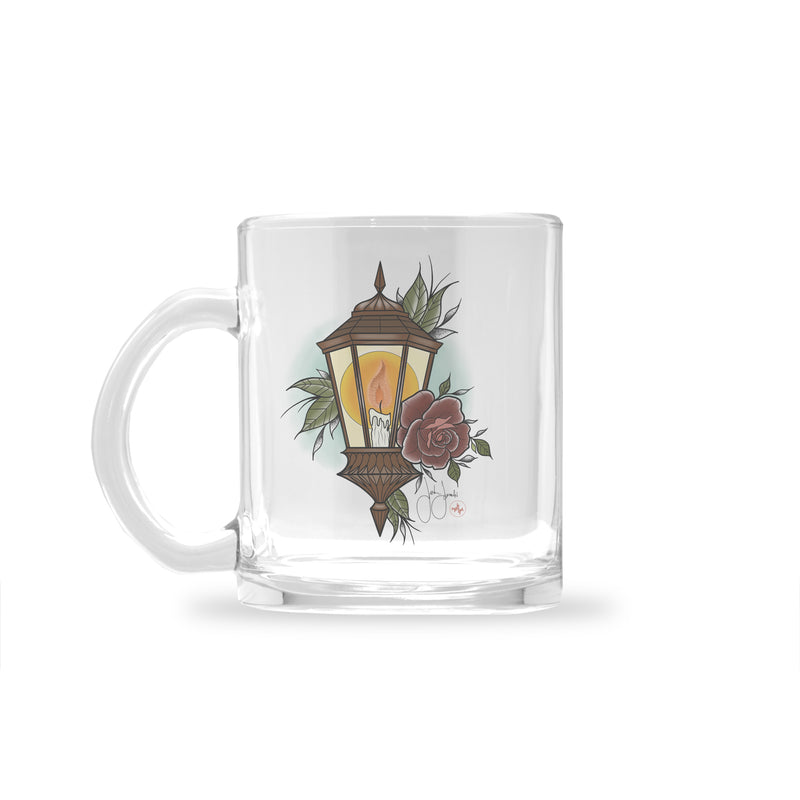 Jordan Rose - Light of Love - Glass Mug