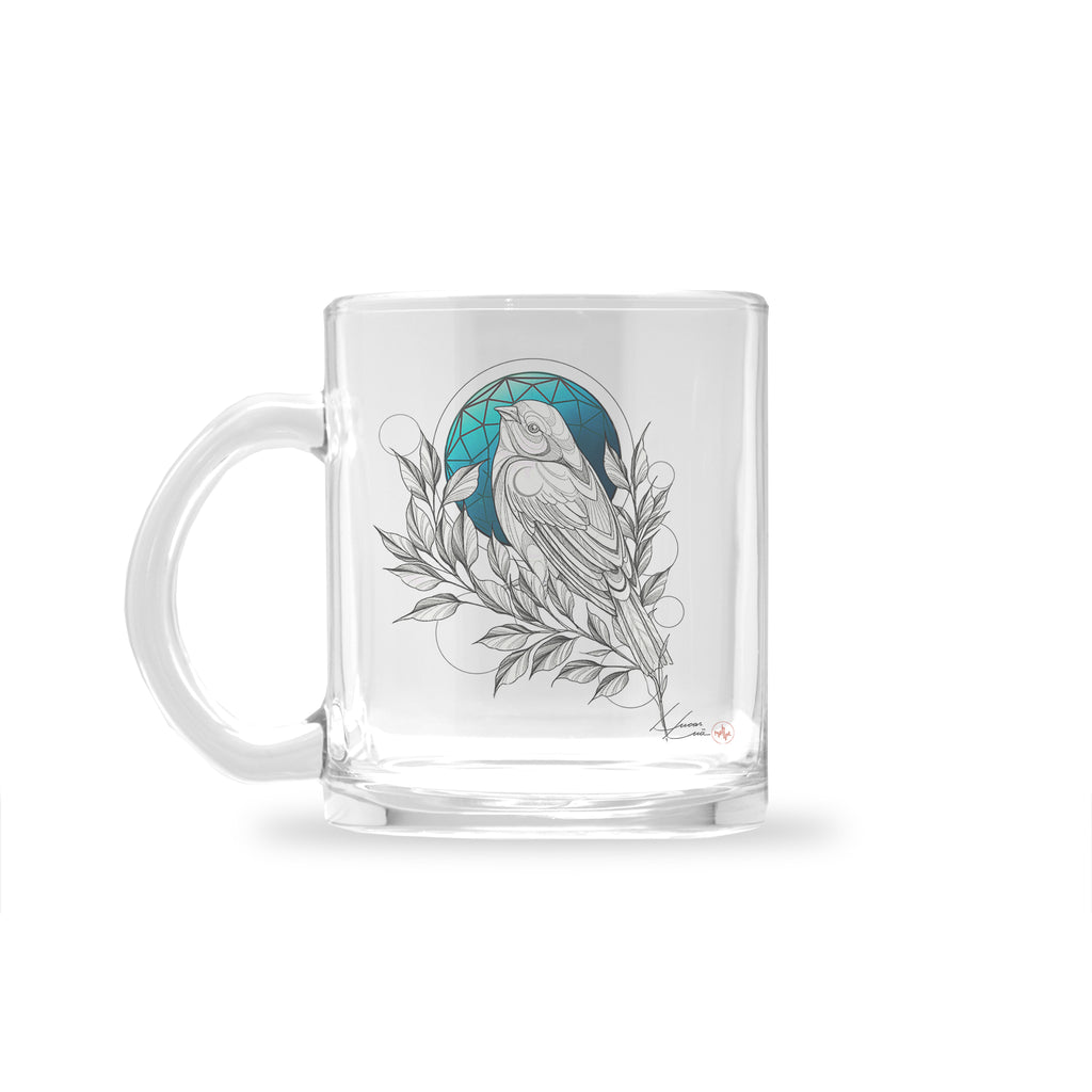 Lucas Lua - Blue Night - Glass Mug