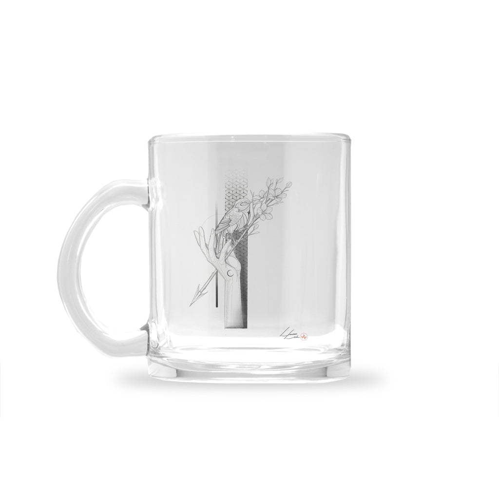 Lucas Lua - Freedom - Glass Mug
