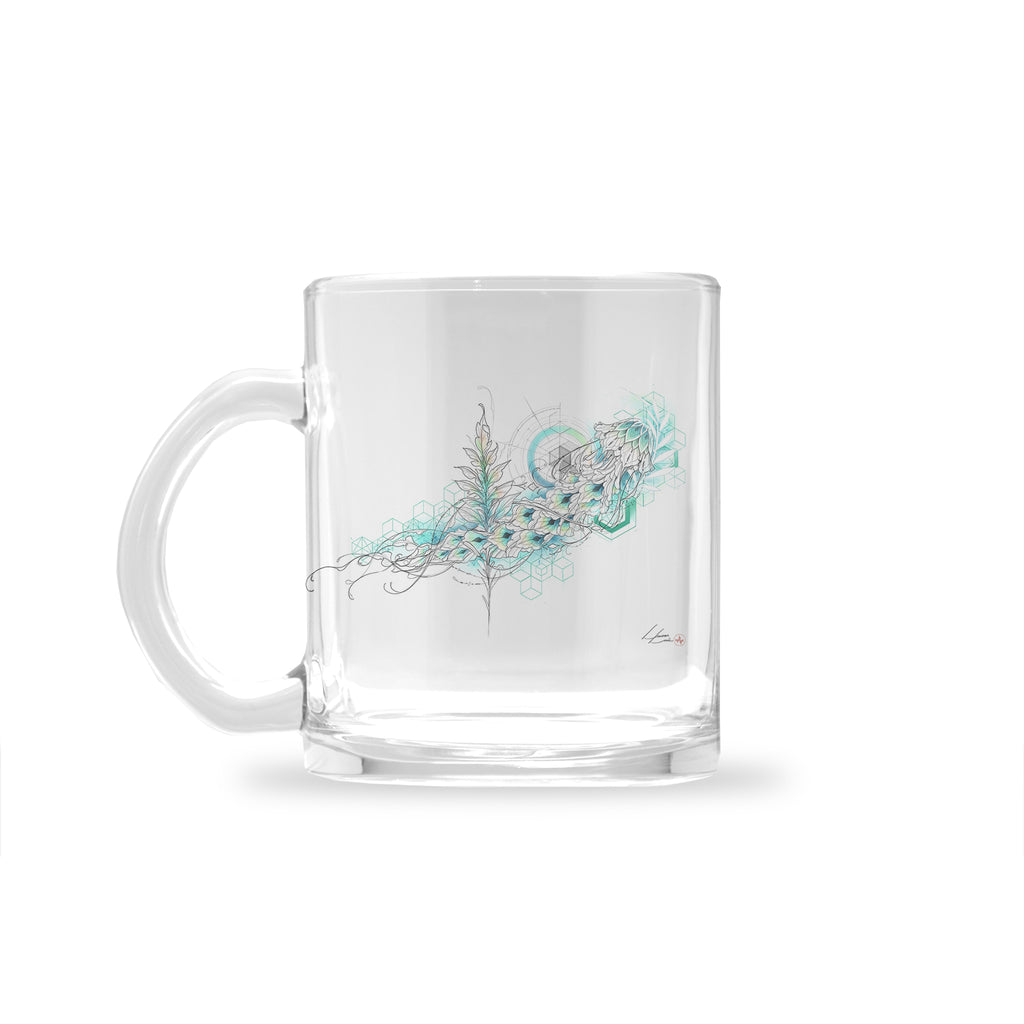 Lucas Lua - Jellyfish - Glass Mug