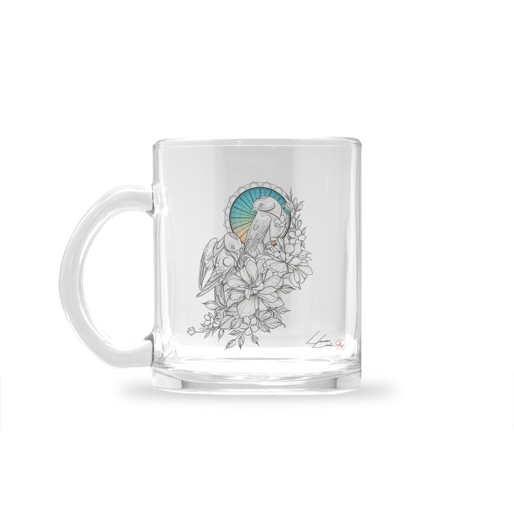 Lucas Lua - Together - Glass Mug