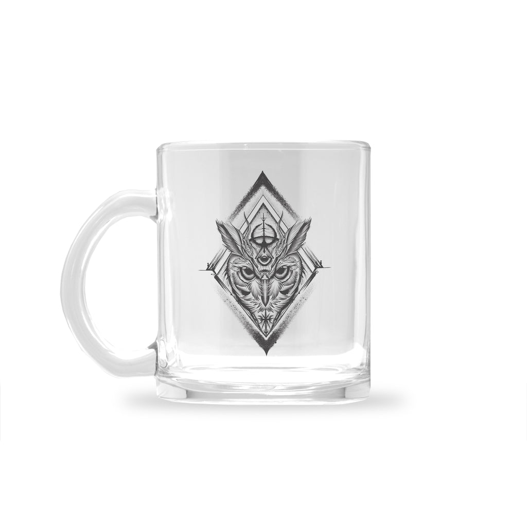 Gady Tattoo - Knowledge - Glass Mug