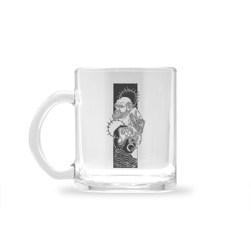 Eric Kueh - Bodhidharma Enlightenment - Glass Mug