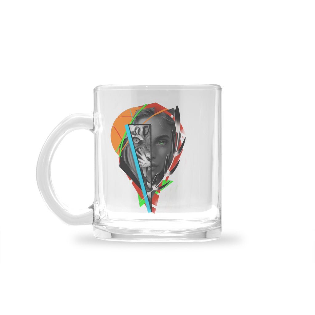 Newschoolenko Max - Beast Inside - Glass Mug