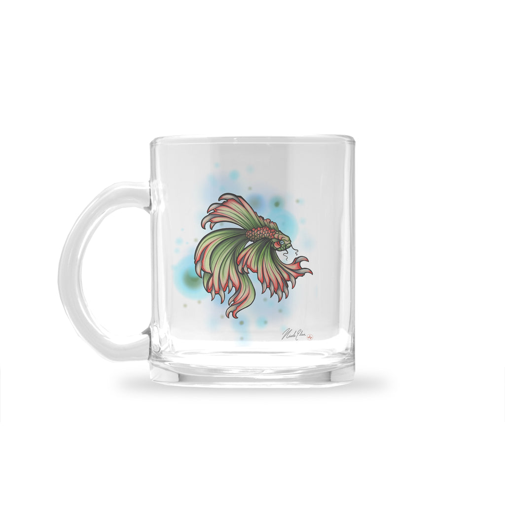 Nicole Elisa - Tooth Fish - Glass Mug