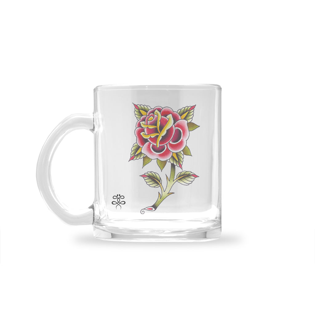 Ryan Blanchard - Lonely Rose - Glass Mug