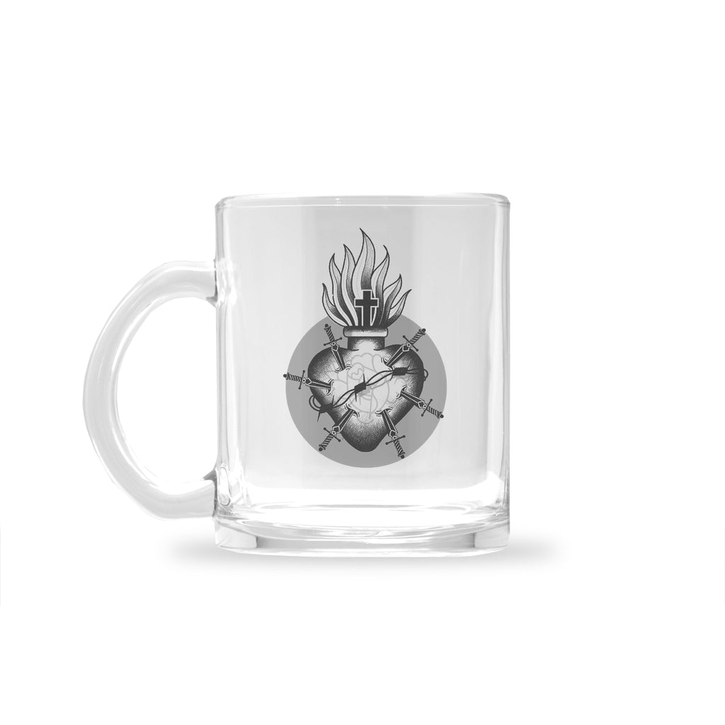 Ryan Blanchard - Sacred Heart - Glass Mug
