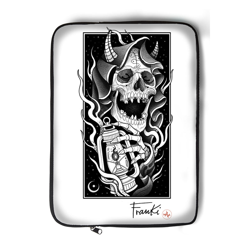 Franki Tattoo - The Light of the Grim Reaper - Laptop Sleeve