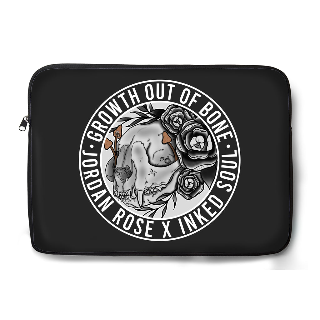 Jordan Rose x Inked Soul - Growth out of Bone - Laptop Sleeve