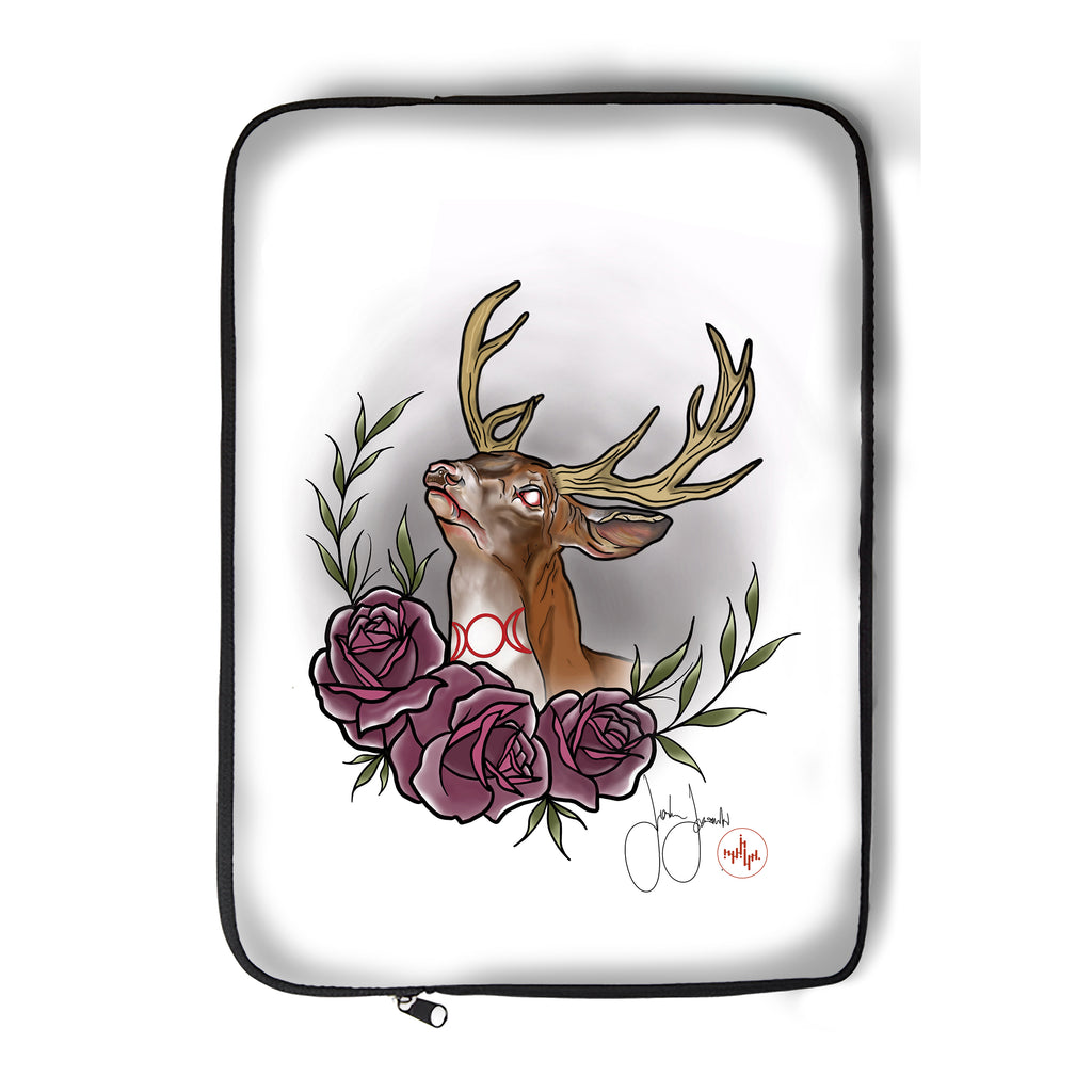 Jordan Rose - Witchy Stag - Laptop Sleeve
