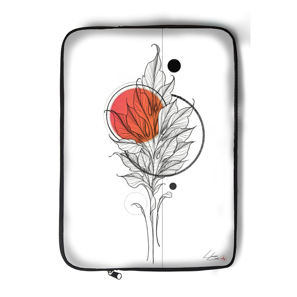 Lucas Lua - Leaf Orange - Laptop Sleeve