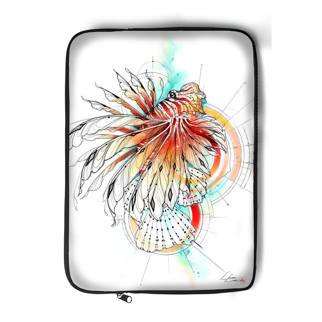 Lucas Lua - Lionfish - Laptop Sleeve