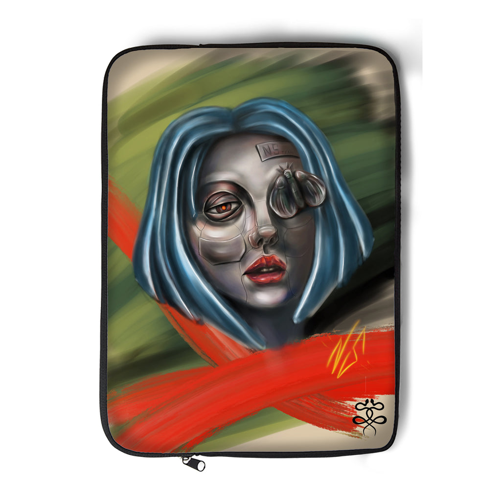 Newschoolenko Max - Iron Girl - Laptop Sleeve