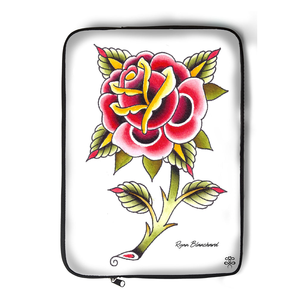 Ryan Blanchard - Lonely Rose - Laptop Sleeve