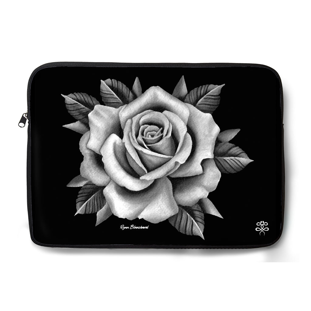 Ryan Blanchard - Midnight Rose - Laptop Sleeve