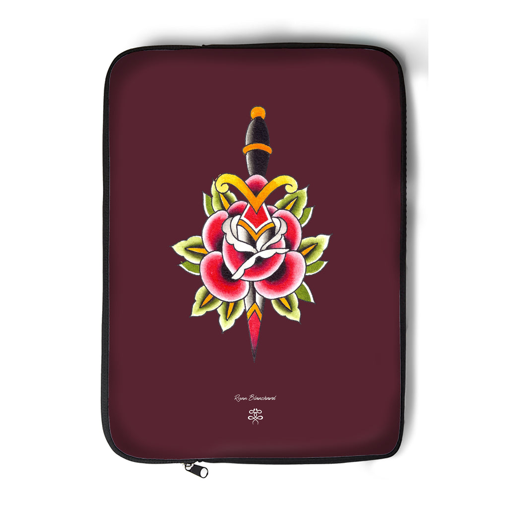 Ryan Blanchard - Rose n Dagger - Laptop Sleeve