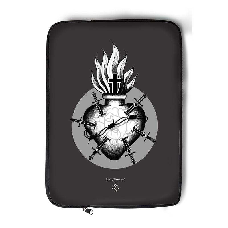 Ryan Blanchard - Sacred Heart - Laptop Sleeve