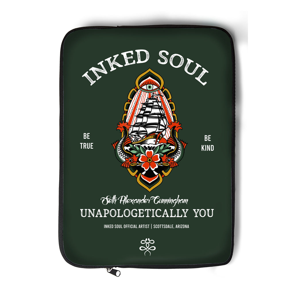 Seth Alexander x Inked Soul - Ship - Laptop Sleeve