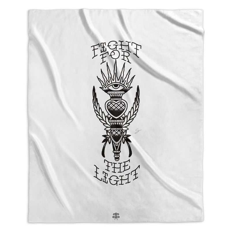 Seth Alexander - Fight for the Light - Sherpa Blanket