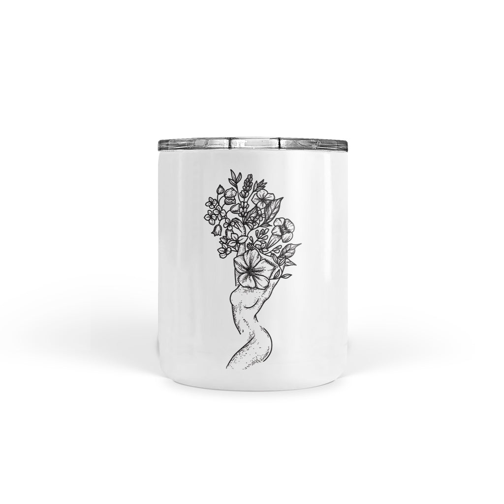 Andrea Din Don - Floral Woman - Tumbler