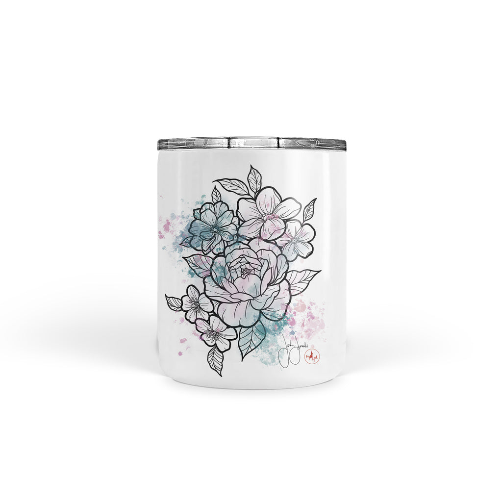 Jordan Rose - Flowers in Pastel - Tumbler