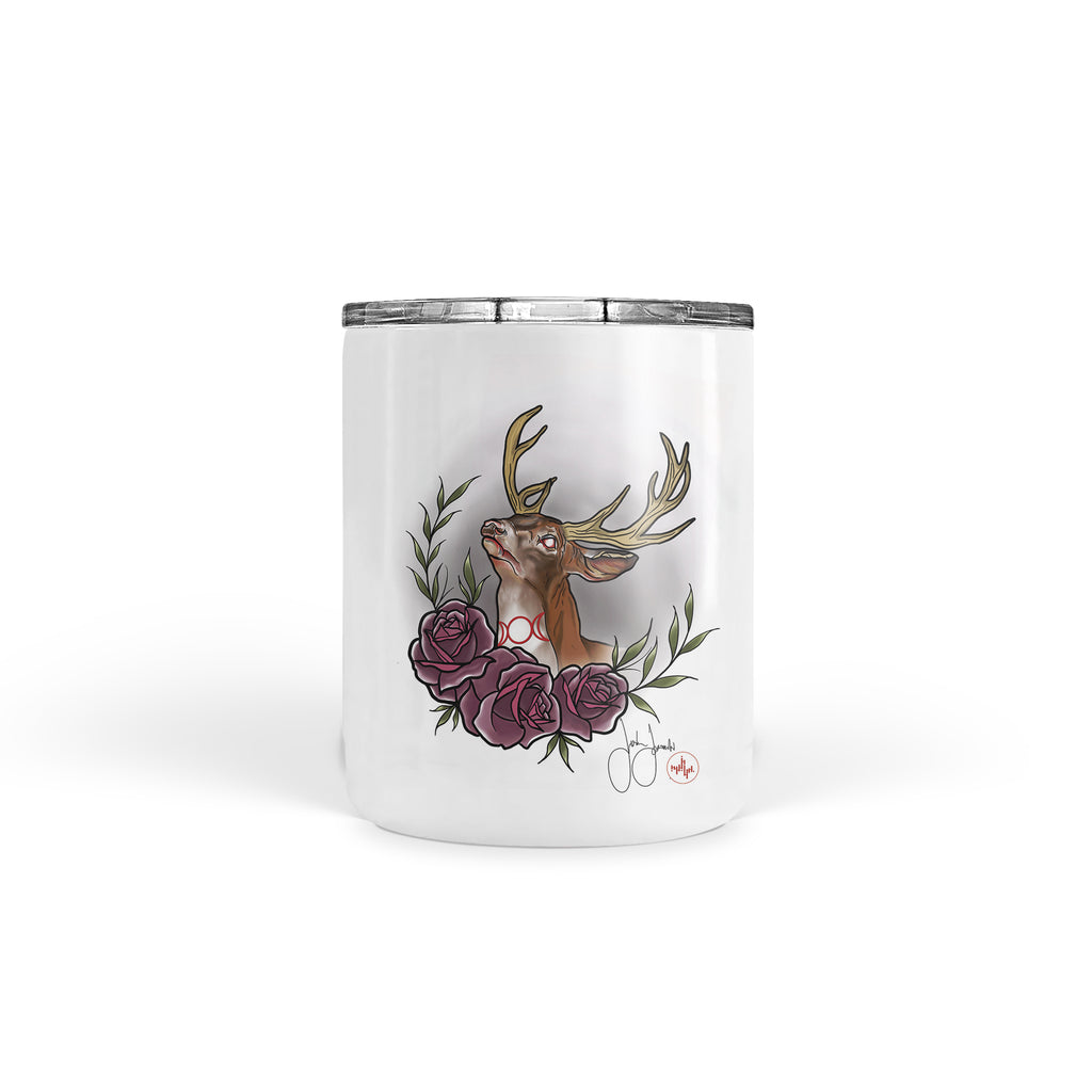 Jordan Rose - Witchy Stag - Tumbler
