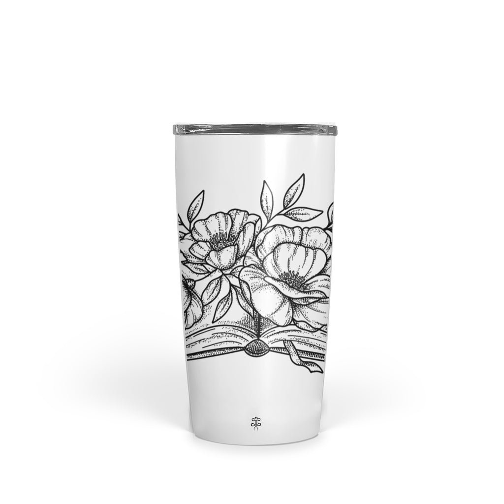 Andrea Din Don - Floral Book - Tumbler