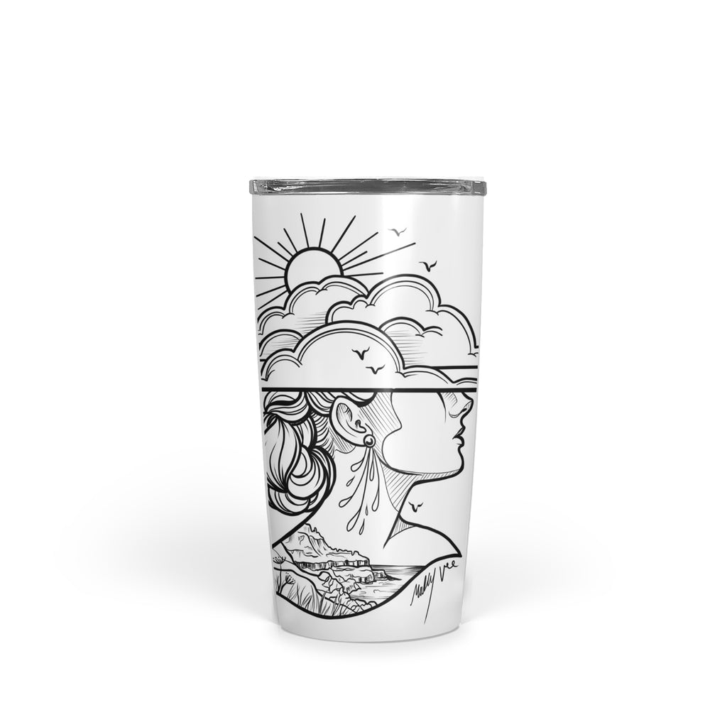 Molly Vee - Lady Of The Giants Causeway - Tumbler