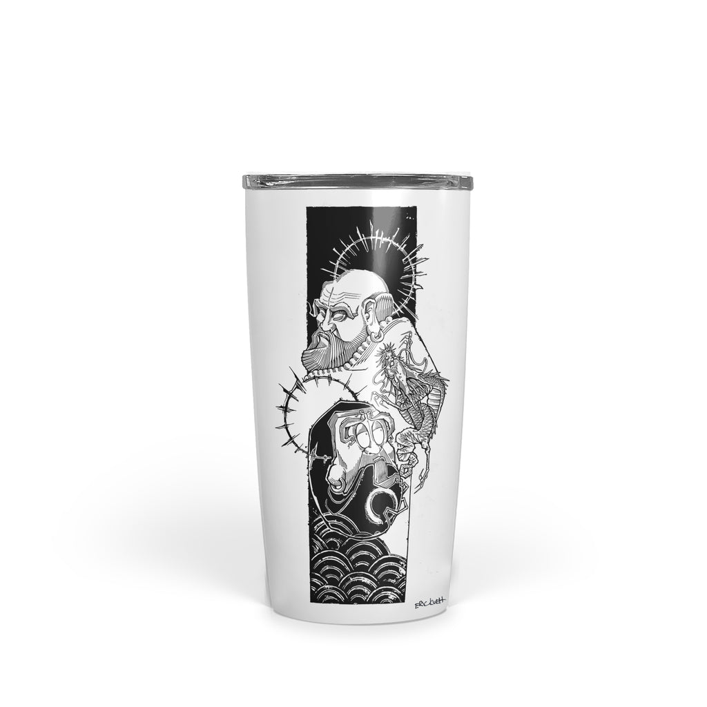 Eric Kueh - Bodhidharma Enlightenment - Tumbler