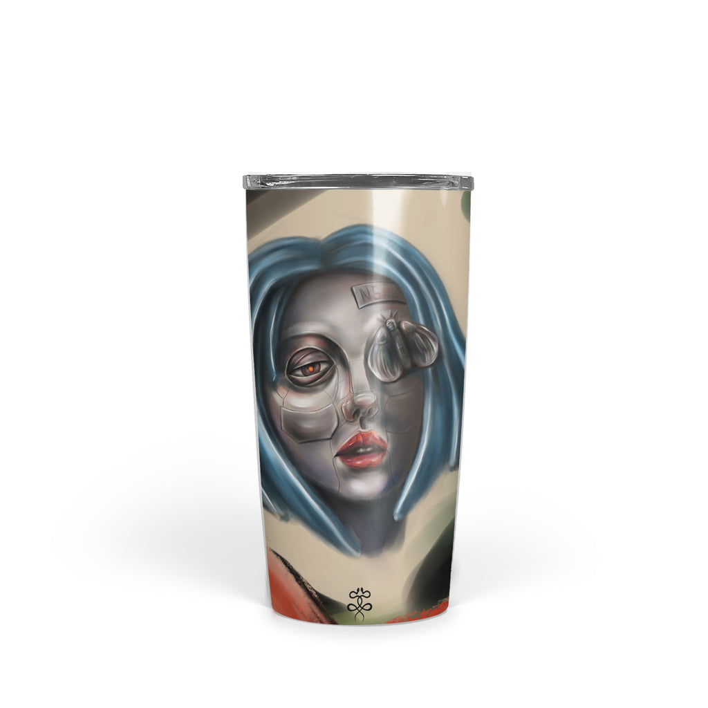 Newschoolenko Max - Iron Girl - Tumbler