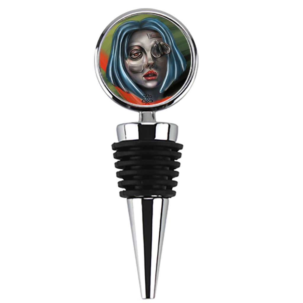 Newschoolenko Max - Iron Girl - Wine Stopper