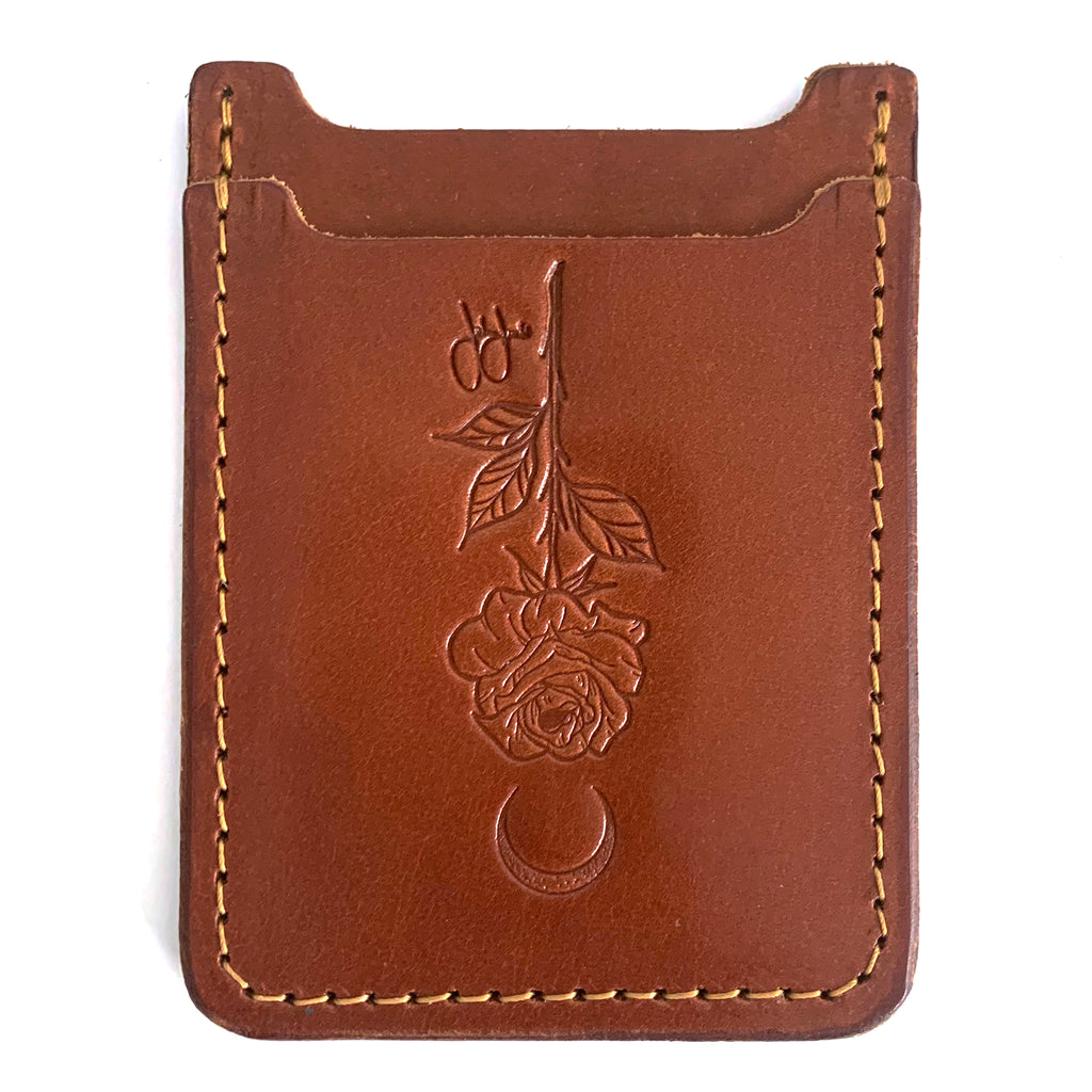 Jordan Rose - Lunar Rose - Leather Minimalist Wallet