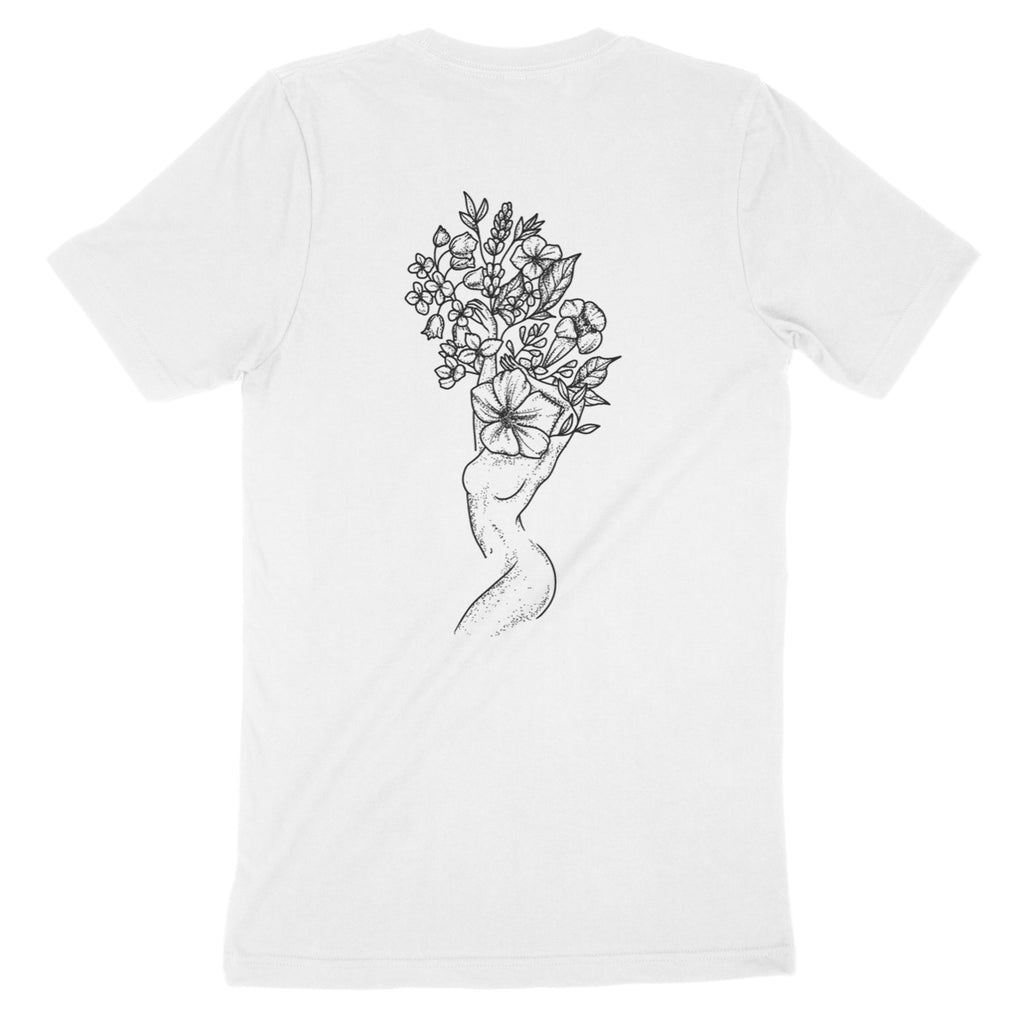 Andrea Din Don - Floral Woman - T-Shirt