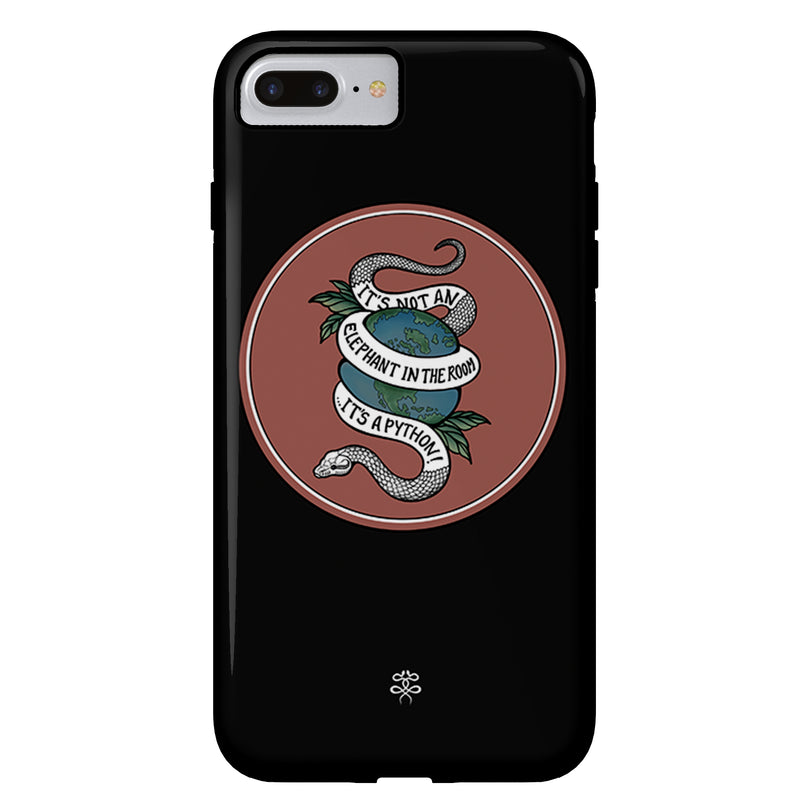 Cat James - Python - iPhone Case