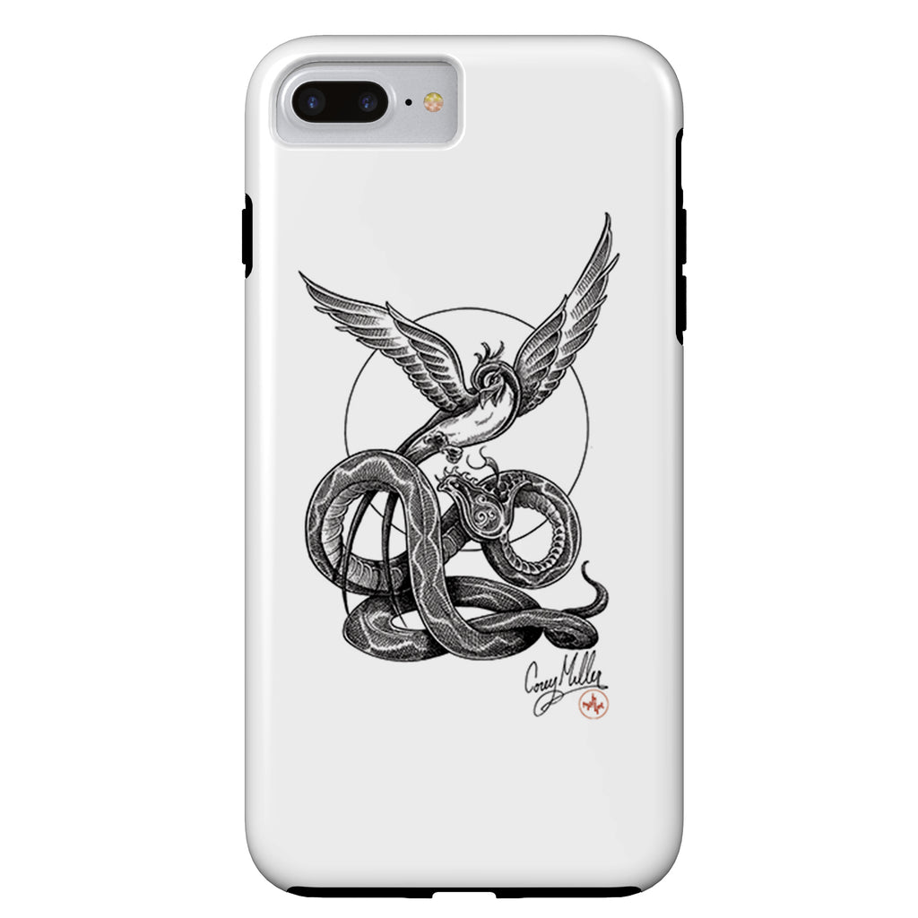 Corey Miller - Rise Above - iPhone Case