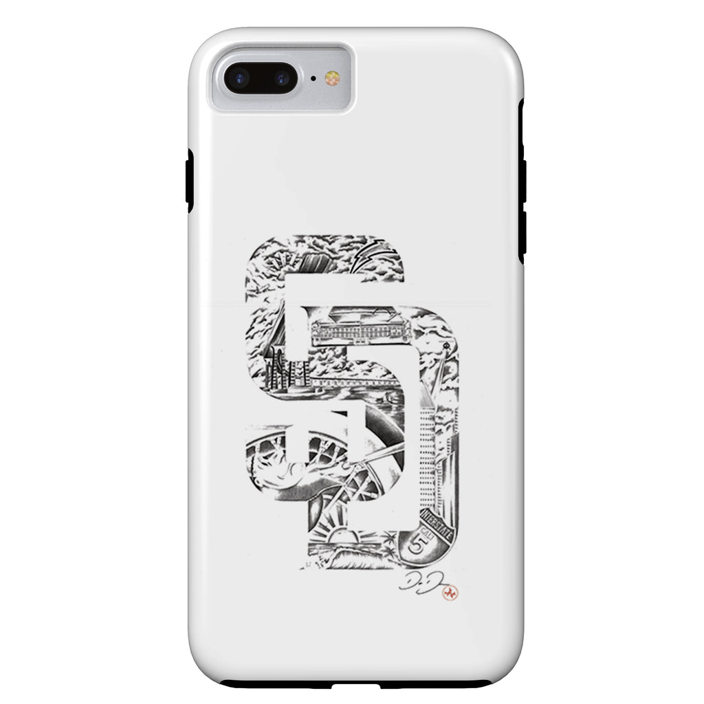 Dago Dane - SD Dreamin - iPhone Case