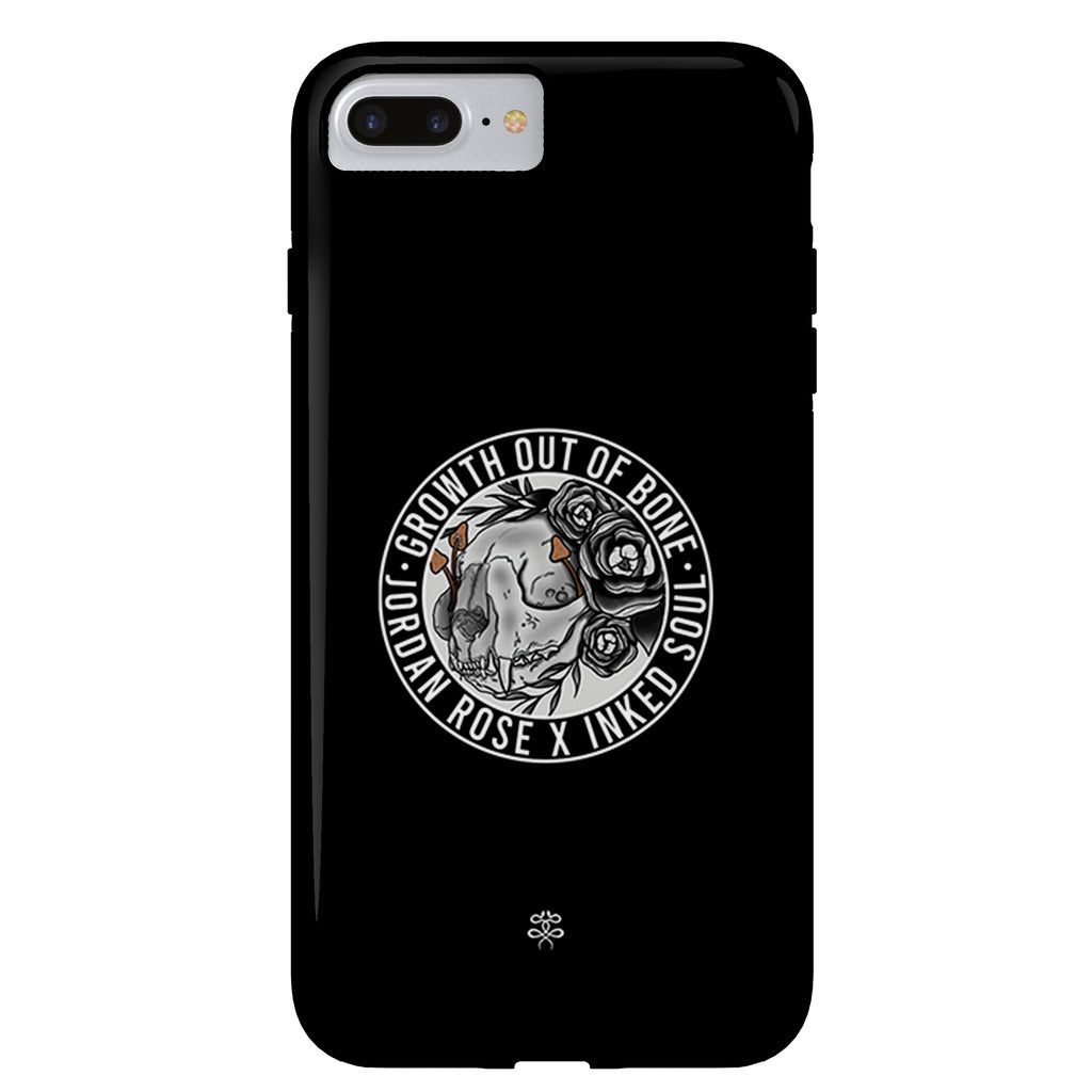 Jordan Rose x Inked Soul - Growth out of Bone - iPhone Case