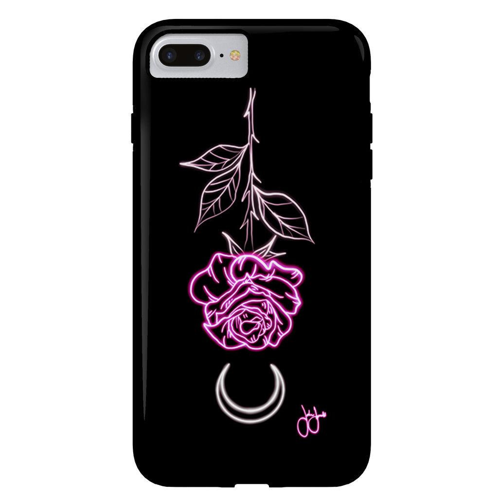 Jordan Rose x Inked Soul - Lunar Rose- iPhone Case
