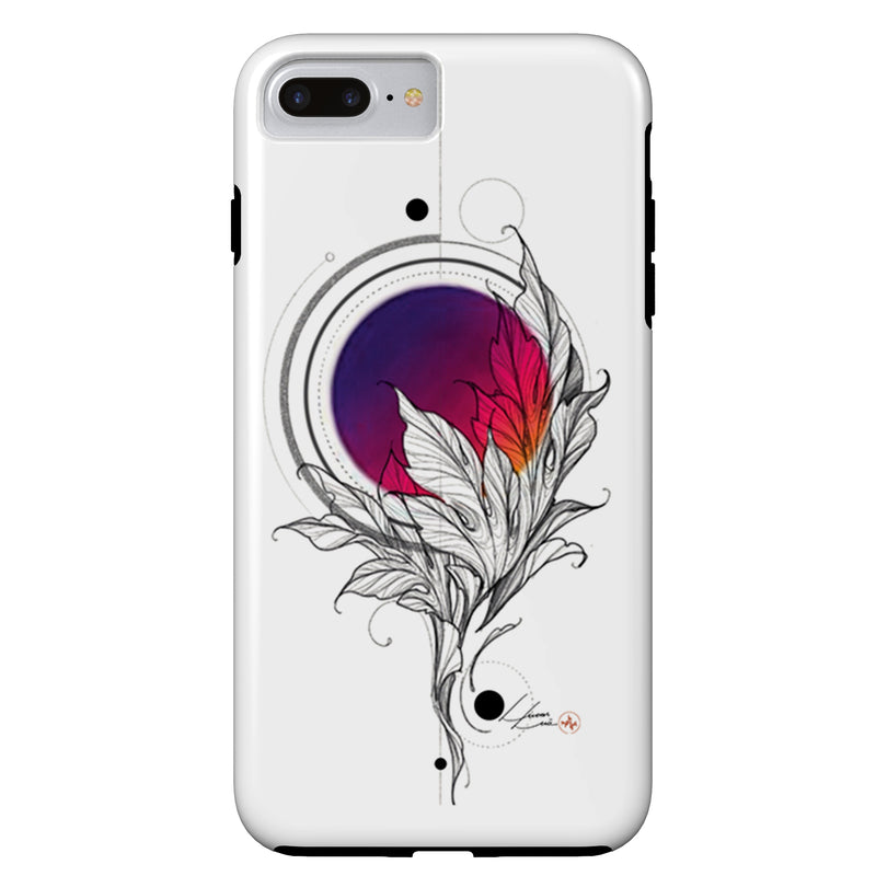 Lucas Lua - Leaf Pink - iPhone Case