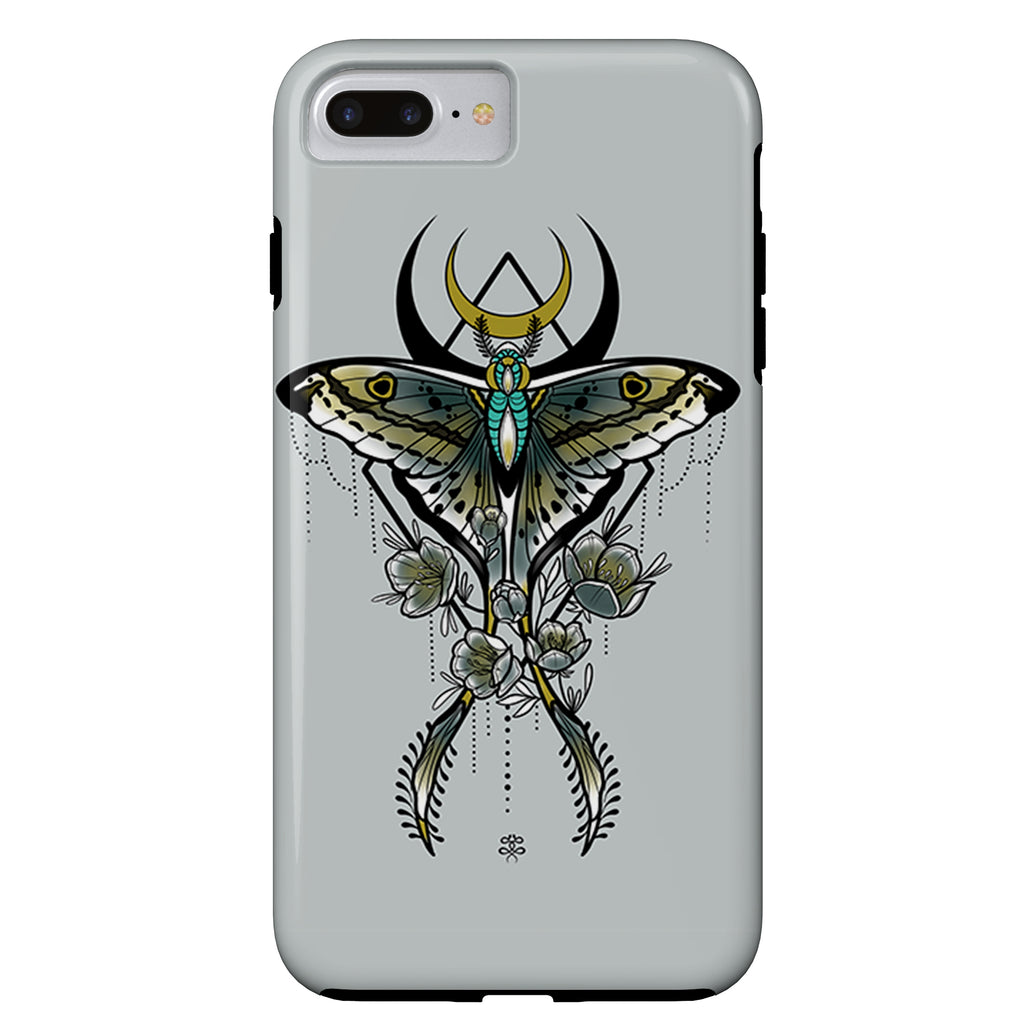 Naysla Droguett - Luna Moth - iPhone Case